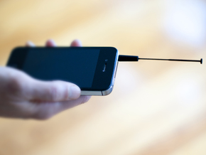 Smart Antenna  in Black Strong & Flexible