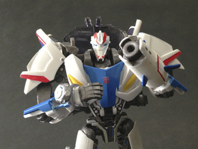 TFP upgrade set for Smokescreen in White Natural Versatile Plastic