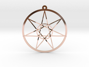 Fairy Star in 14k Rose Gold Plated Brass