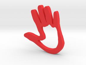 High5 in Red Processed Versatile Plastic