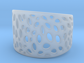 Cells Cuff One Layer (Size M) in Smooth Fine Detail Plastic