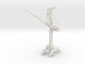 big PHB crane  in White Strong & Flexible