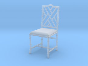 1:24 Chinese Chippendale Chair in Frosted Extreme Detail