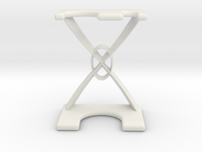 Razor and Brush Stand in White Strong & Flexible