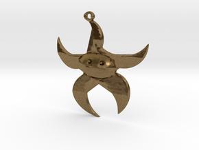 Dancing Starfish in Natural Bronze