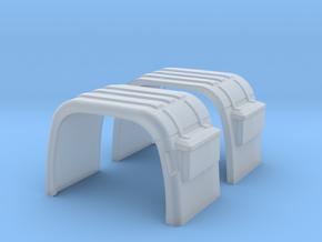 Kotflügel mit Rückleuchtenhalter   in Smooth Fine Detail Plastic
