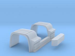 Kotflügel Mit Rückleuchten in Smooth Fine Detail Plastic
