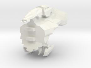 Legion - 003 Torso - 03 Capacitor Regeneration Mat in White Natural Versatile Plastic
