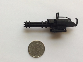 MiniGun in Black Natural Versatile Plastic