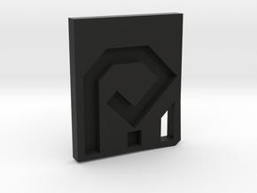 ipeproto logo in Black Natural Versatile Plastic
