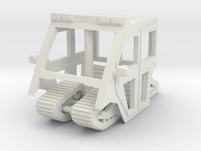 1-64 Scale Mule Cab - Tracks in White Natural Versatile Plastic