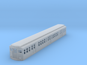 N Scale Phila BSL 1938 Subway Car Body Shell in Smooth Fine Detail Plastic