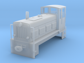 Ns4 DR Spur 0 Chassis/ Gehäuse in Smooth Fine Detail Plastic