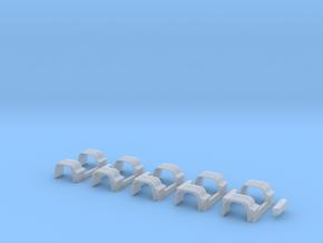 Kotflügel Mit Rückleuchten 5Stck in Smooth Fine Detail Plastic