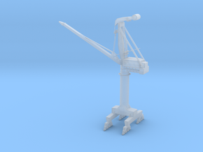 Small PHB Crane in Frosted Ultra Detail