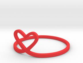 Loveloop in Red Processed Versatile Plastic