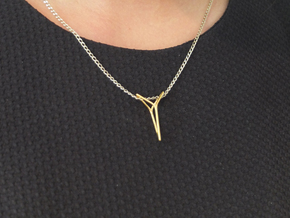 YOUNIVERSAL ONE, Pendant in 18K Gold Plated