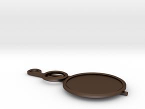 Similitude in Polished Bronze Steel
