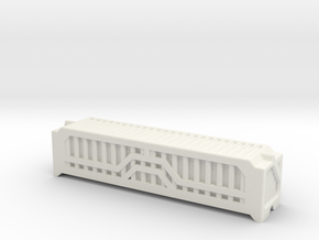 6mm 40Ft Shipping Container in White Natural Versatile Plastic