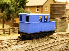 009 Sentinel (Single Window Cab) - Part 4A in Blue Processed Versatile Plastic