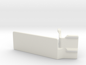 Gopro XL-Mount (25 degrees) in White Natural Versatile Plastic