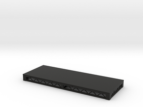 1:25 Platform 8x3 in Black Natural Versatile Plastic