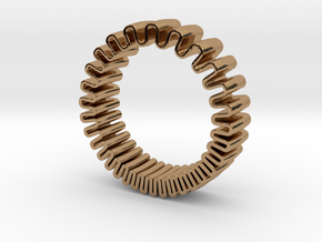 MYTO // Mitochondria Ring in Polished Brass