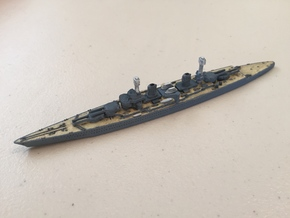1/1800 USS Lexington BC (1918) in White Natural Versatile Plastic