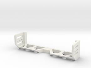 1/16 Tamiya M4 Idler Brace in White Natural Versatile Plastic