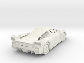 Ferrari in White Natural Versatile Plastic