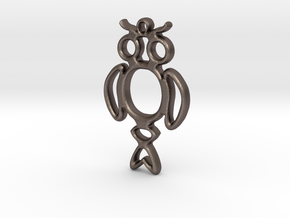 Object No. 21 in Polished Bronzed Silver Steel