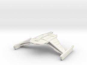 Romulan Bird Of Prey in White Strong & Flexible