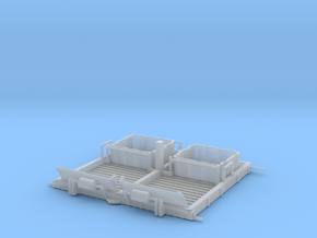 01A-LRV - Central Platform in Smooth Fine Detail Plastic