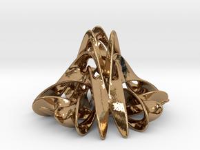 Trochobell (2 in) in Polished Brass