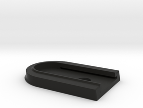 Base Plate Not For Use With Extension sleeve in Black Strong & Flexible