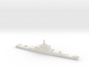 Long Beach Refitted with Aegis, 1/3000 in White Natural Versatile Plastic