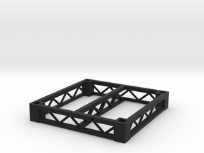 1:25 Platform 3x3, frame only in Black Natural Versatile Plastic