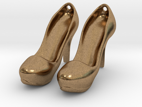 Modern Heels - Style 2 size 2 in Natural Brass