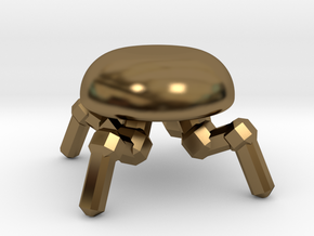 Spider Drone  in Polished Bronze
