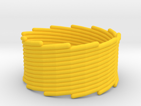 Cyclone 10 in Yellow Strong & Flexible Polished