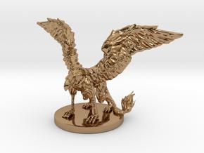 Griffon Miniature in Polished Brass