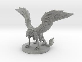 Griffon Miniature in Metallic Plastic