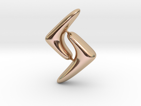 RUNE-G in 14k Rose Gold Plated Brass