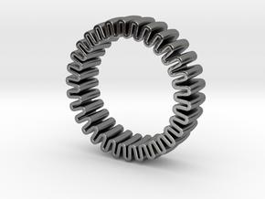 MYTO U // Mitochondria Ring in Polished Silver