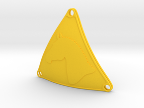 Bikini Plate Pair (TheMarketingsmith) in Yellow Strong & Flexible Polished