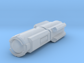 Laser - Single in Smooth Fine Detail Plastic