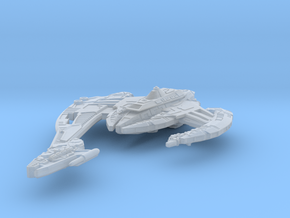 BC Attack Ship 5000 in Smooth Fine Detail Plastic