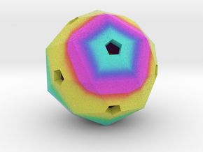 Hollow Blank Rainbow D60 35mm in Full Color Sandstone