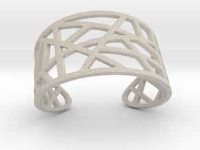POLLY cuff bracelet  in Natural Sandstone