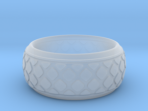 PATTI bangle  in Smooth Fine Detail Plastic
